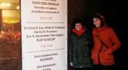 Hilde og Kristina utenfor Galleriet